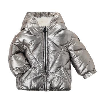 Clothing Girl Parkas Ikks CAFE Silver