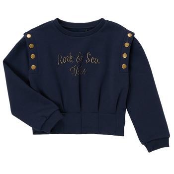 Clothing Girl Sweaters Ikks GRENAT Marine