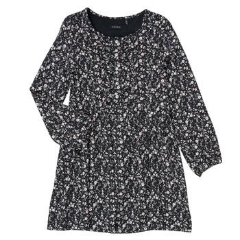 Clothing Girl Short Dresses Ikks MALACHITE Black