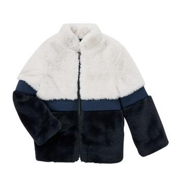 Clothing Girl Coats Ikks PISTACHE Marine