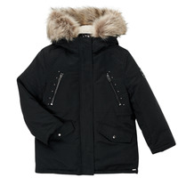 Clothing Girl Parkas Ikks COQUELICOT Black
