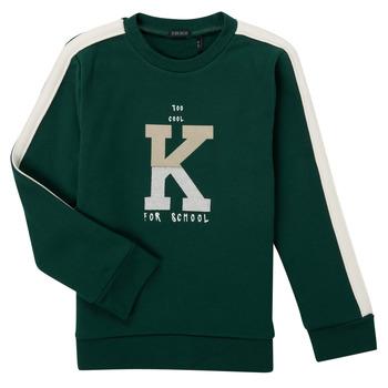 Clothing Boy Sweaters Ikks SINOPLE Kaki