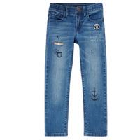 Clothing Boy Slim jeans Ikks VANILLE Blue