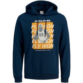 Clothing Men Sweaters Jack & Jones Sweatshirt  Jcolegends bleu marine