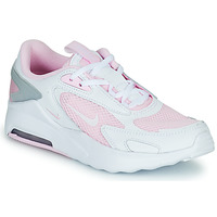 Shoes Children Low top trainers Nike NIKE AIR MAX BOLT (GS) Grey / Pink