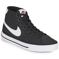 Shoes Women Low top trainers Nike W NIKE COURT LEGACY CNVS MID Black / White