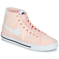 Shoes Women Low top trainers Nike W NIKE COURT LEGACY CNVS MID Orange