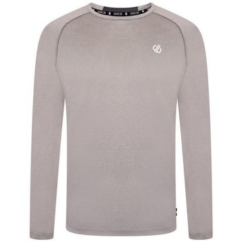Clothing Men Long sleeved tee-shirts Dare 2b REALIZE Long-Sleeved Technical T-Shirt Grey