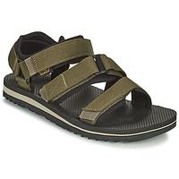 Shoes Men Sandals Teva M Cross Strap Trail DARK OLIVE Kaki
