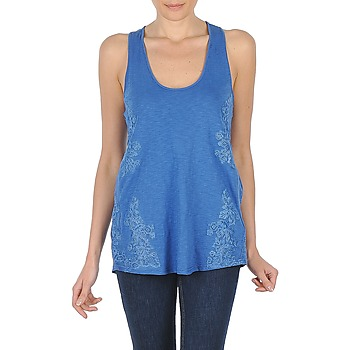 Clothing Women Tops / Sleeveless T-shirts Stella Forest CHELSEA Blue