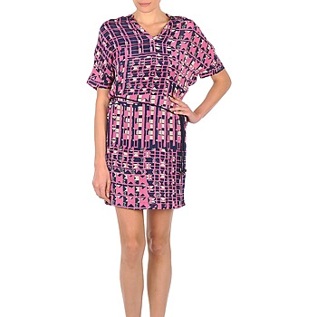 Clothing Women Short Dresses Stella Forest KLIMT MARINE / Pink