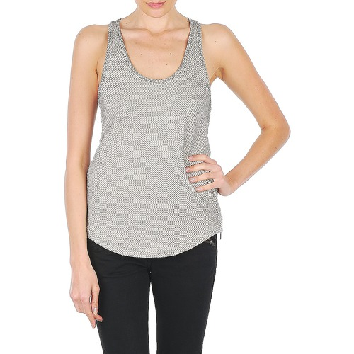 Clothing Women Tops / Sleeveless T-shirts Stella Forest ROCKY Ecru