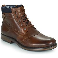 Shoes Men Mid boots Redskins NOYANT Cognac