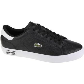Shoes Men Low top trainers Lacoste Powercourt Black