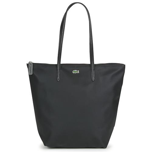 Bags Women Shopping Bags / Baskets Lacoste L.12.12 CONCEPT LONG Black