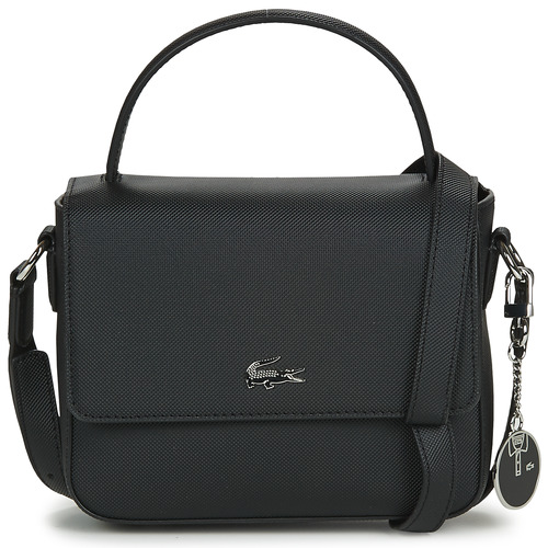 Bags Women Shoulder bags Lacoste DAILY CLASSIC CROSSOVER Black