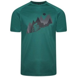 Clothing Men Short-sleeved t-shirts Dare 2b RIGHTEOUS II Graphic T-Shirt Green