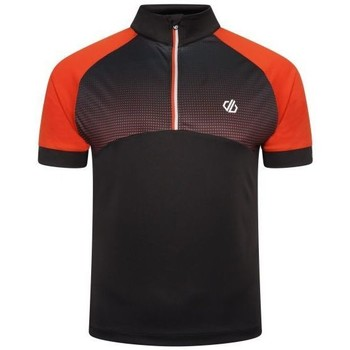 Clothing Men Short-sleeved t-shirts Dare 2b STAY THE COURSE Cycling Jersey Orange