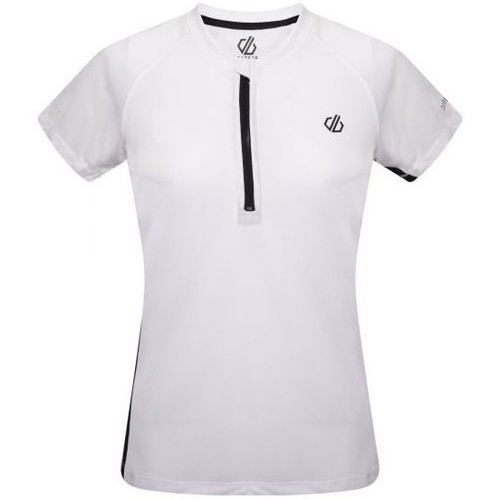 Clothing Women Short-sleeved t-shirts Dare 2b OUTDARE II Wicking Jersey White