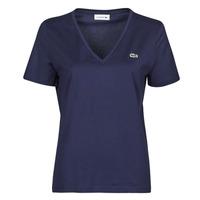 Clothing Women Short-sleeved t-shirts Lacoste LOUIS Marine