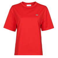 Clothing Women Short-sleeved t-shirts Lacoste JULES Red