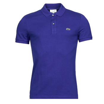 Clothing Men Short-sleeved polo shirts Lacoste POLO SLIM FIT PH4012 Blue / King