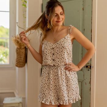 Clothing Women Jumpsuits / Dungarees Céleste NEROLI Ecru