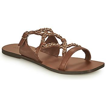 Shoes Women Sandals Jonak IVANA Brown