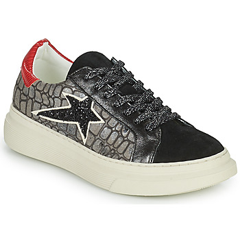 Shoes Women Low top trainers Betty London PORMINE Black