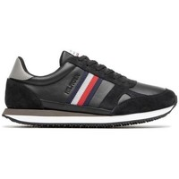 Shoes Men Low top trainers Tommy Hilfiger Runner Black