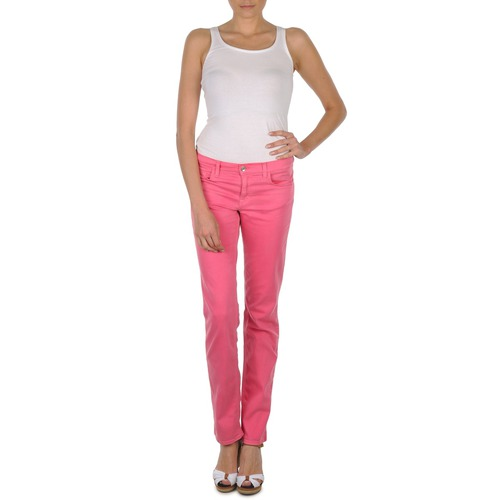 Clothing Women 5-pocket trousers Gant DANA SPRAY COLORED DENIM PANTS Pink