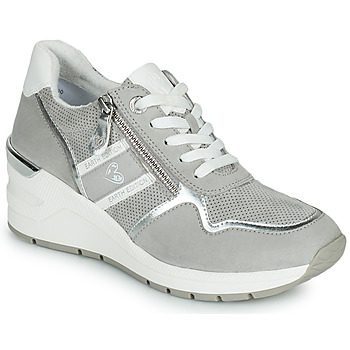 Shoes Women Low top trainers Marco Tozzi  Grey