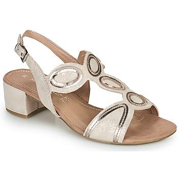 Shoes Women Sandals Marco Tozzi  Pink