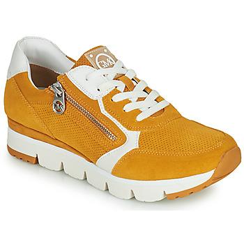 Shoes Women Low top trainers Marco Tozzi  Yellow