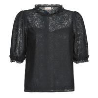 Clothing Women Tops / Blouses Moony Mood ABBEILHANS Black