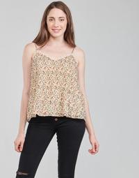 Clothing Women Tops / Blouses Moony Mood ABERES Beige