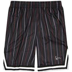 Clothing Men Shorts / Bermudas Karl Kani Short  Small Signature Pinstripe Mesh noir/bleu/rouge