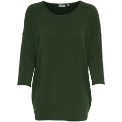 Clothing Women Long sleeved tee-shirts Only T-shirt femme  Glamour manches 3/4 beluga