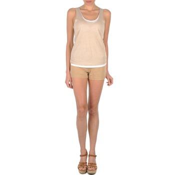 Clothing Women Shorts / Bermudas Majestic SOLENE BEIGE