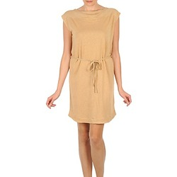 Clothing Women Short Dresses Majestic CAMELIA Beige