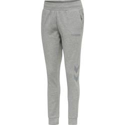 Clothing Women Tracksuit bottoms Hummel Pantalon femme  hmlLEGACY tapered gris