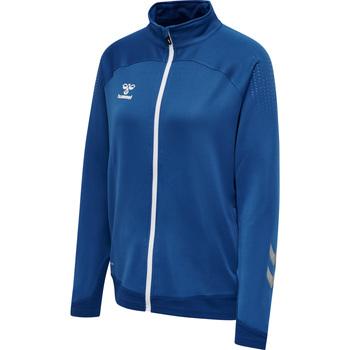Clothing Women Track tops Hummel Veste zippée femme  hmlLEAD poly bleu