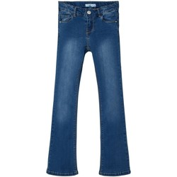 Clothing Girl Bootcut jeans Name it Jeans bootcut fille  Polly dark blue denim