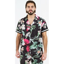 Clothing Men Short-sleeved shirts Sixth June Chemise  tropical noir