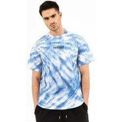 Clothing Men Short-sleeved t-shirts Sixth June T-shirt  tie dye bleu