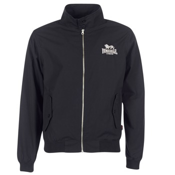 Clothing Men Jackets Lonsdale HARRINGTON Black