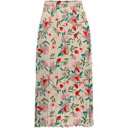Clothing Women Skirts Only Jupe femme  onlalma life 8 parchment milano blossom