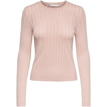 Clothing Women Jumpers Only Pullover femme  onlmelba life rose smoke