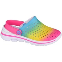 Shoes Children Clogs Skechers GO Walk 5 Play BY Play Blue, Pink