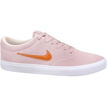 Shoes Men Low top trainers Nike SB Charge Suede Pink